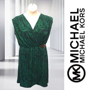 Michael Kors Paisley Wrap Dress